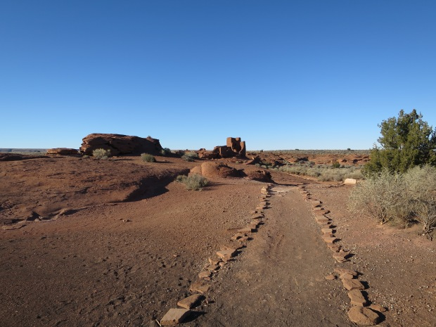 Trail to Wukoki, Wupatki National Monument, Arizona