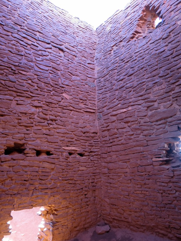 Inside Wukoki, Wupatki National Monument, Arizona