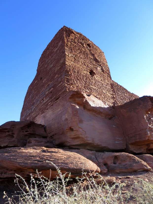Tower structure at Wukoki, Wupatki National Monument, Arizona