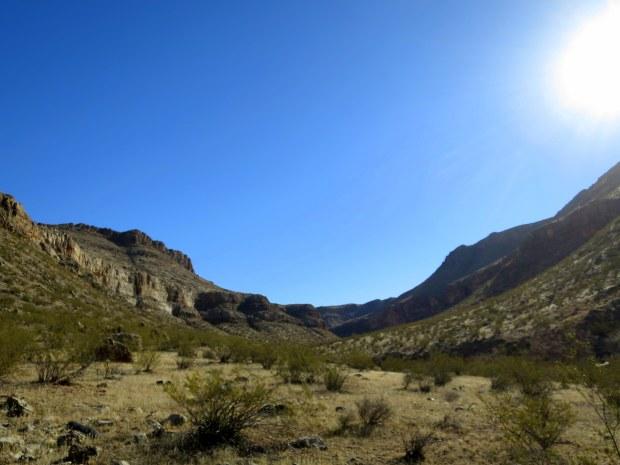 Mouth of canyon, Black Rock, Arizona