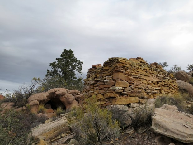 Rock house, Red Cliffs National Conservation Area, Utah