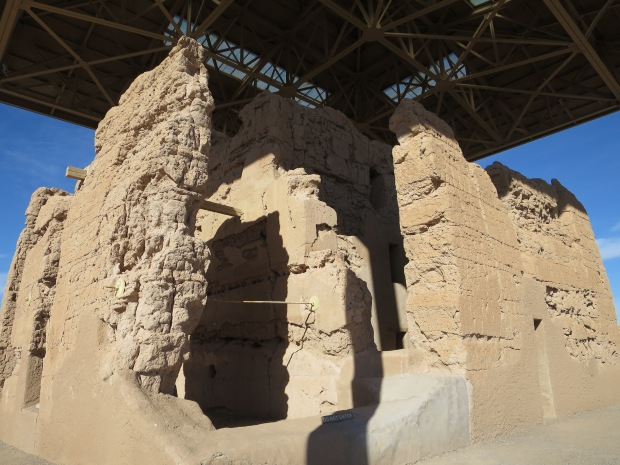 Stabilization in Great House, Casa Grande Ruins National Monument, Arizona