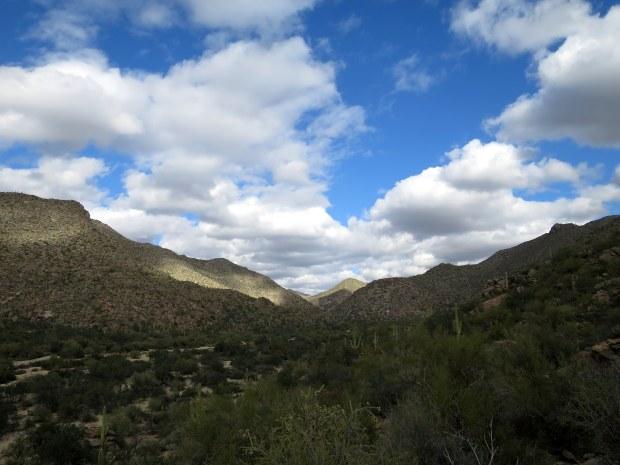 Lower Javelina Trail, Tortolita Mountain Park, Arizona