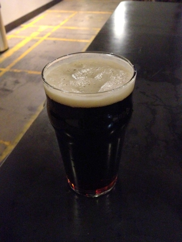 Scout porter at Dragoon Brewing Company, Tucson, Arizona