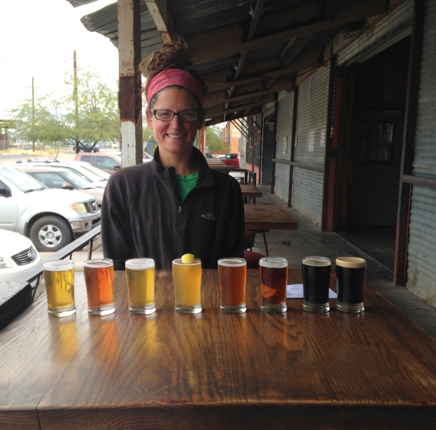 Me, Barrio Brewing Company, Tucson, Arizona