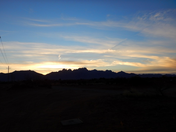 Another sunrise, Las Cruces New Mexico