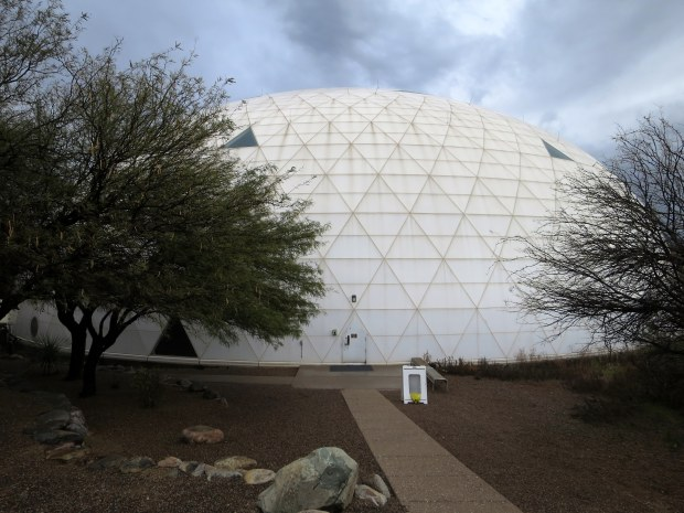Exterior of lung, Biosphere 2, Arizona