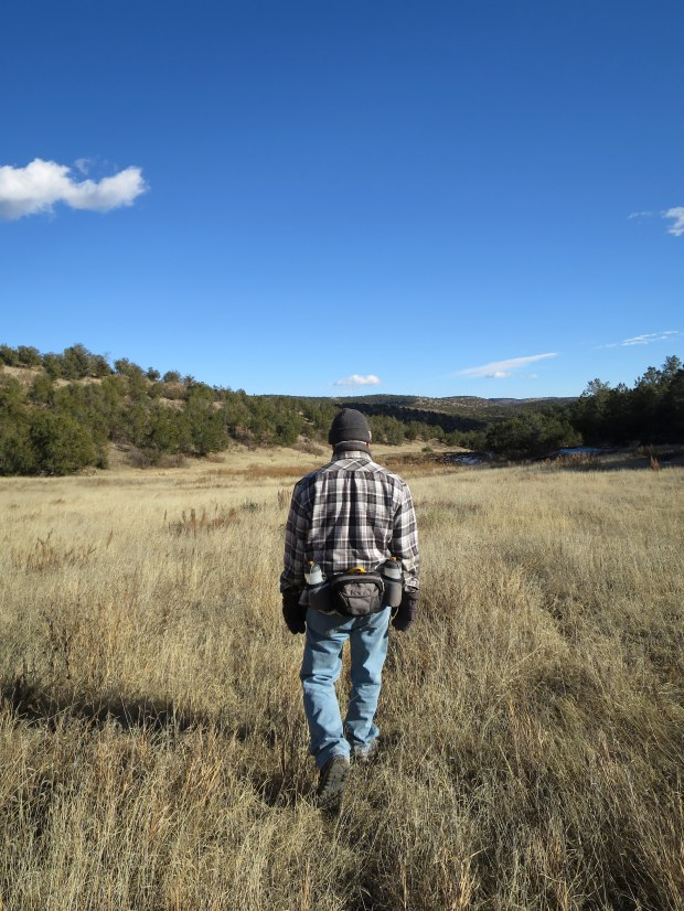 Tom in Lincoln National Forest, New Mexico