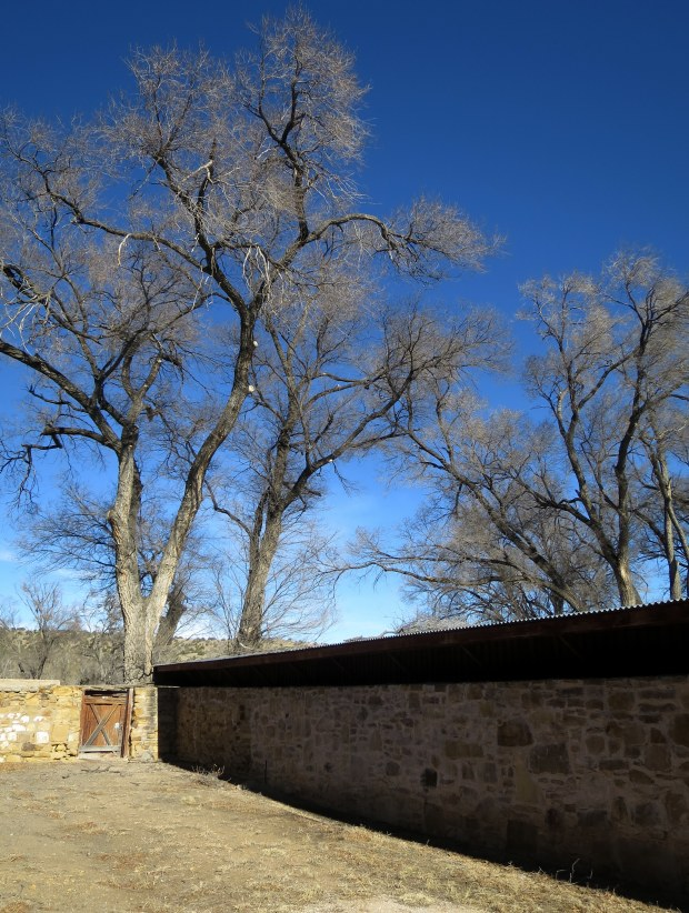 Stables at Fort Stanton, New Mexico