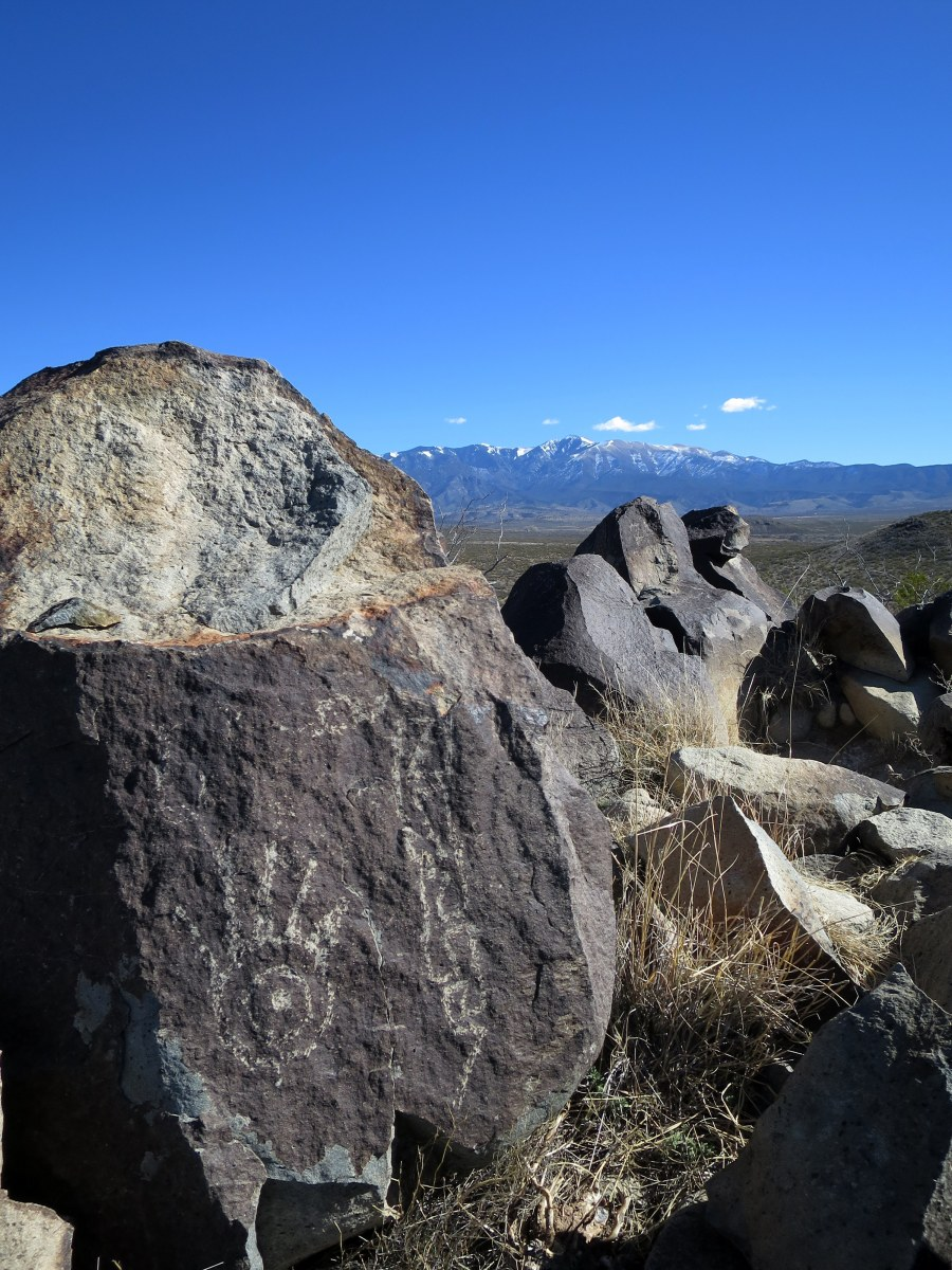 Three Rivers Petroglyph Site and a Bit of Hiking in Lincoln National Forest