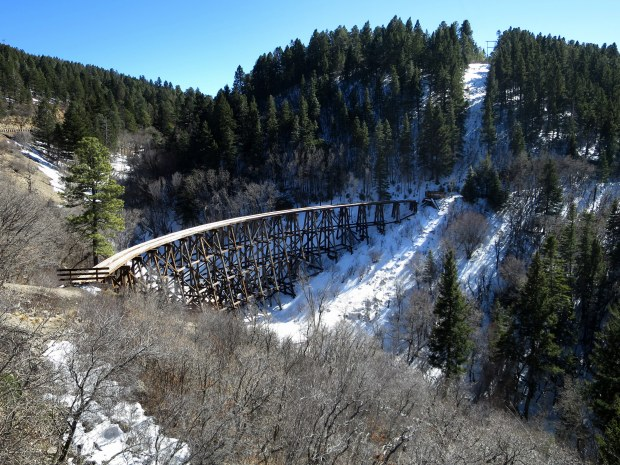Mexican Canyon Trestle, near Cloudcroft, New Mexico