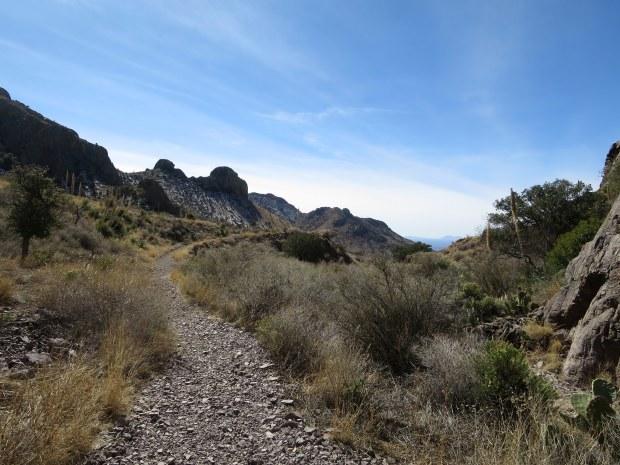 Exiting Bar Canyon, Soledad Canyon Recreation Area, New Mexico