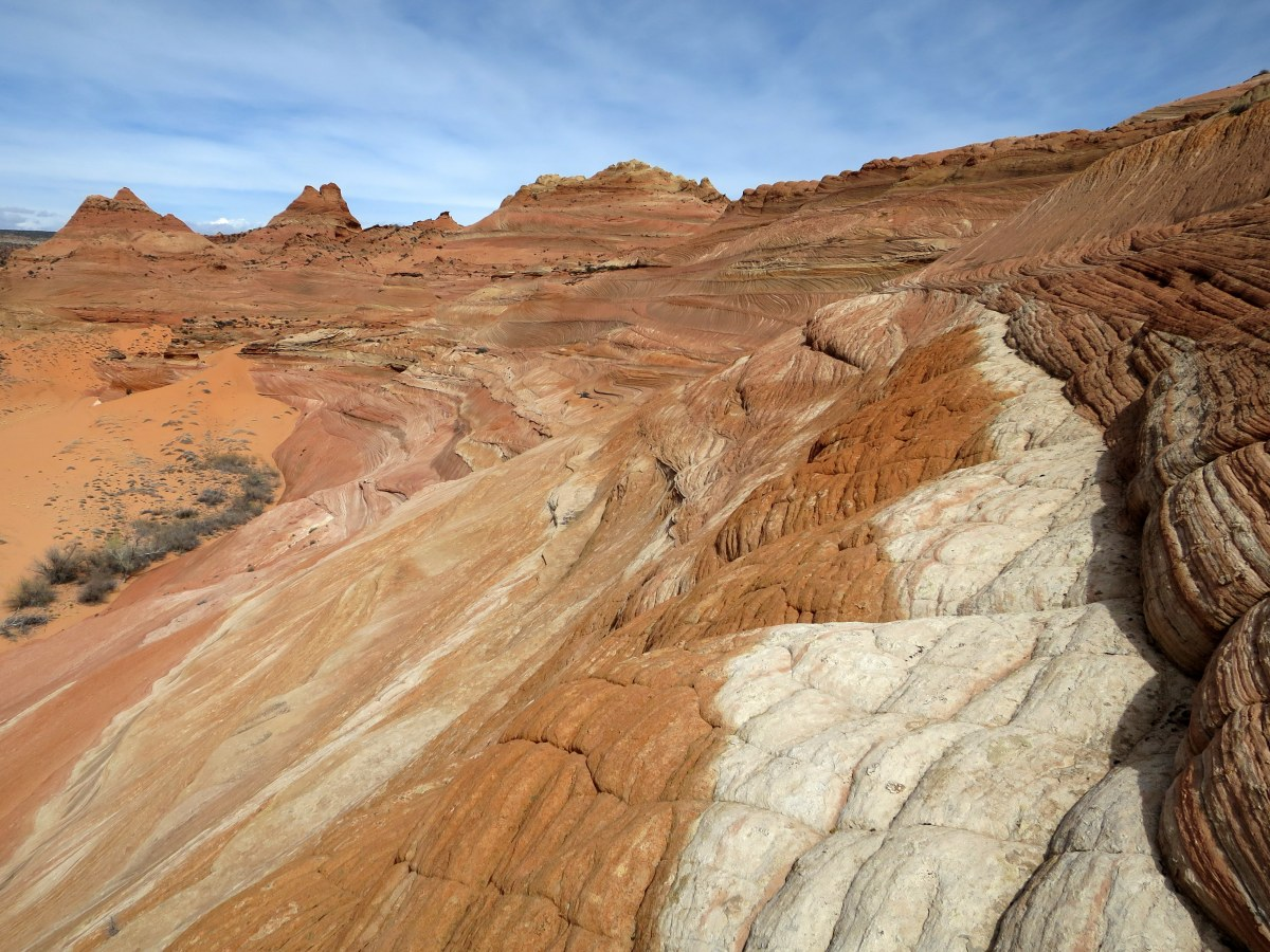 The Magical Landscapes of Utah: Cross Country Exploring with a Return through Buckskin Gulch and Wire Pass