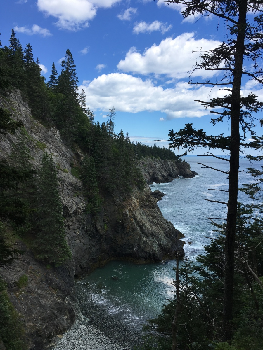 Hiking the Cutler Coastal Trail