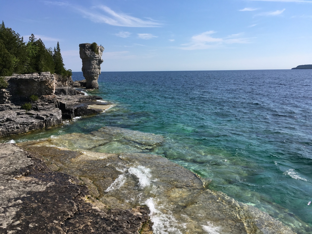 Glass Bottom Boat to Flowerpot Island, Fathom Five National Marine Park