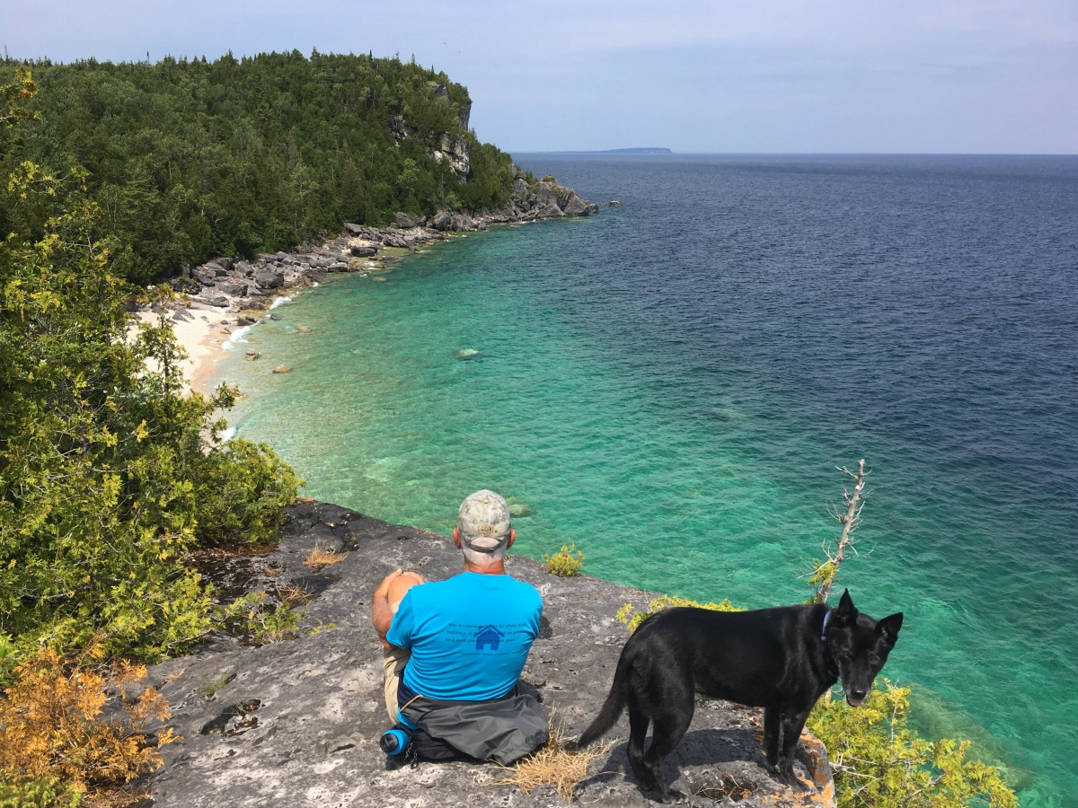 Bruce Peninsula National Park, Part 2: Hiking the Bruce Trail