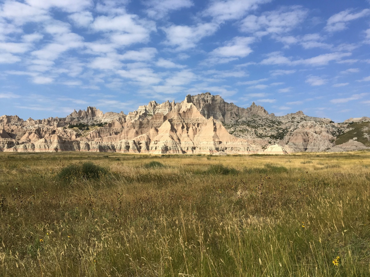 The Magic of the 100th Meridian: Byebye Humidity, Hello Badlands