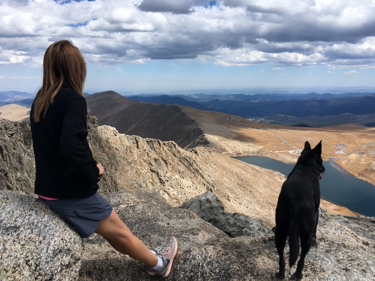 The Mount Evans Scenic Byway and a Hike Up Mount Spaulding