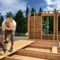 Returning to Build with Kootenai Valley Partners Habitat for Humanity